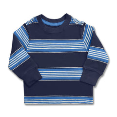 BOYS B-GRADE STRIPE TEE | ON-(6M-5Y)