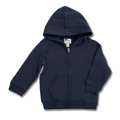 UNISEX CHILDREN PLACE ZIPPER HOOD-NAVY(4-14 YRS)