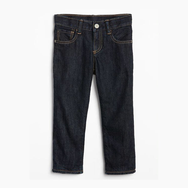 BOY'S FLEECE-LINED STRAIGHT FIT JEANS | GAP-(2Y-5Y)