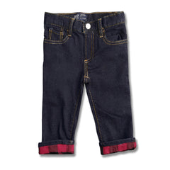 BOY'S FLANNEL-LINED JEANS | GAP-(12M-5Y)