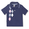 BOY'S CHECK STYLE POLO | ON-(2Y-4Y)