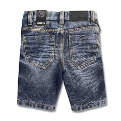 BOY'S DASHING DENIM SHORTS | LIBERTO-(3Y-16Y)