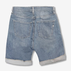LADIES RIPPED DENIM SHORTS | GAS
