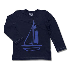 BOYS BOAT TEE BY NEXT (3M-5YRS)