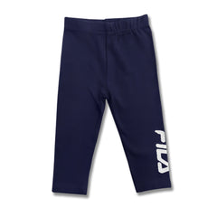 GIRL'S GRAPHIC PRINTED TROUSER| FILA-(2Y-12Y)