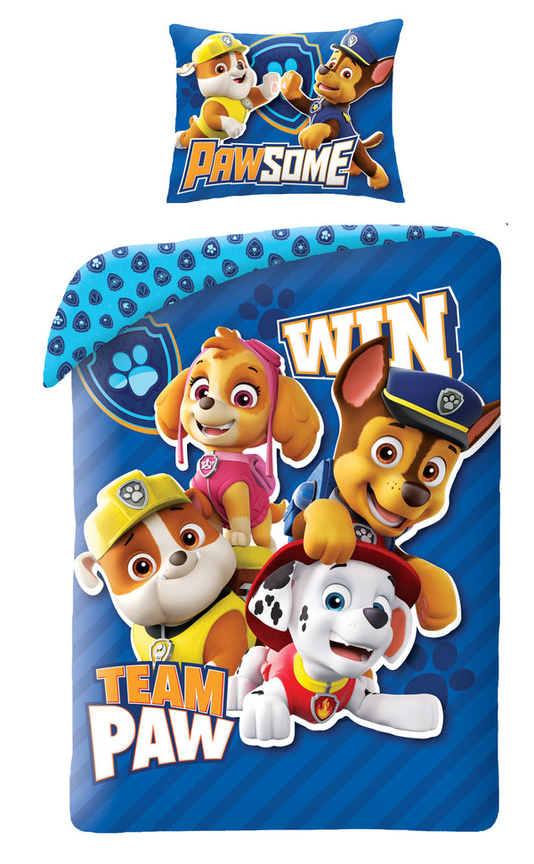 PAW PATROL SINGLE DUVET COVER SET | NICKELODEON