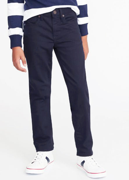 BOY'S KARATE BUILT-IN FLEX MAX NEVER - FADE JEANS | OLD NAVY