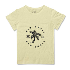 GIRL'S NEW SWELL TEE | ROXY-(8Y-14Y)