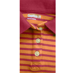 GIRL'S STRIPE POLO | GAP-(4Y-13Y)
