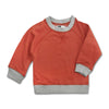 UNISEX SWEAT SHIRT BY CHILDREN PLACE-ORANGE-(6M-4YEARS)