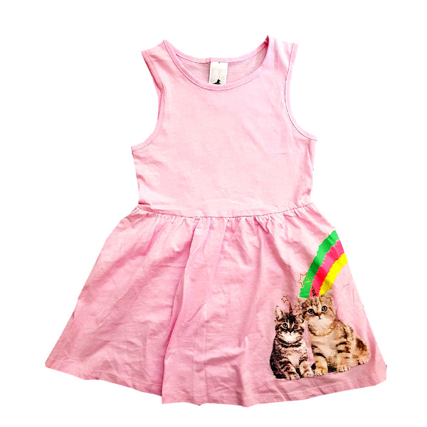 GIRL'S RAINBOW CAT FROCK | C&A-(2Y-10Y)