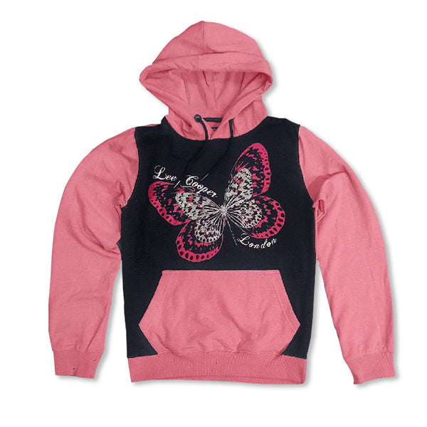 LADIES BUTTERFLY HOODIE | LEE COOPER