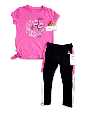 GIRL'S PRINTED SET | REEBOK-(3Y-12Y)