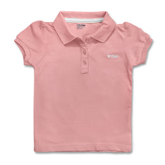 GIRL'S EMB HEART PIQUE POLO | GAP-(12M-5Y)
