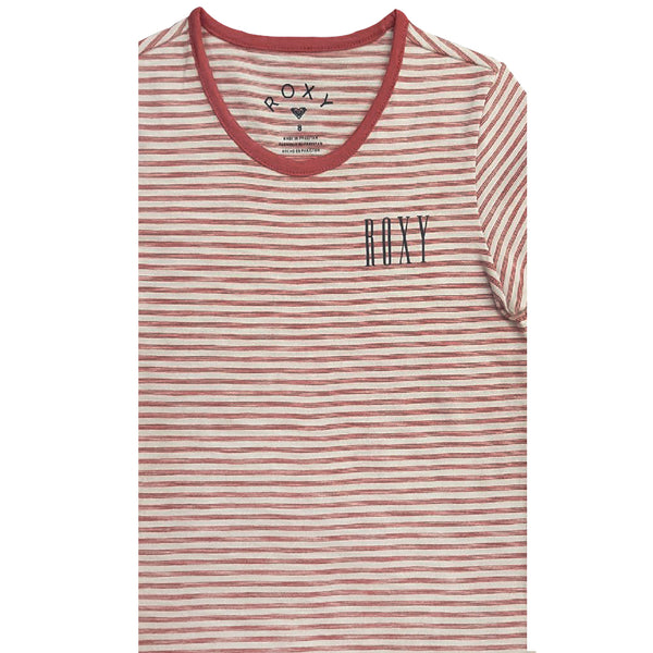 GIRL'S STRIPPED TEE | ROXY-(8Y-16Y)
