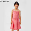 GIRL'S SPAGHETTI DRESS | MANGO-(-4Y-14Y)