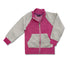 GIRL'S TWO TONE FULL-ZIP JACKETS | SOC-(1Y-6Y)