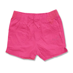 GIRL'S PINK COTTON BEACH SHORTS | OVS-(9M-36M)