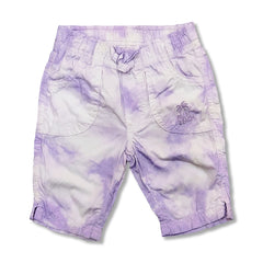 Girl's Purple Cotton Beach Capri | OVS-(9M-36M)