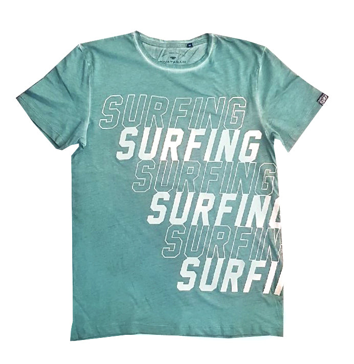 BOY'S SURFING T-SHIRT | TOM TAILOR-(10Y-14Y)