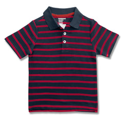 BOY'S STRIPE NAVY POLO | OLD NAVY-(6M-4Y)