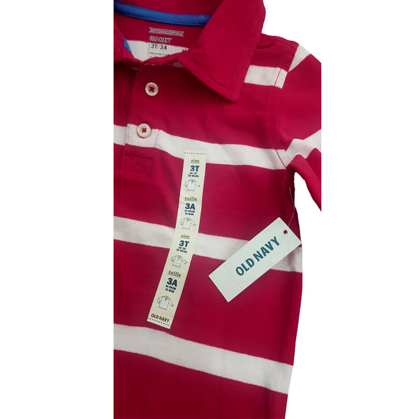 BOY'S STRIPE POLO | ON-(12M-5Y)