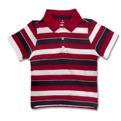 BOY'S MULTI STRIPE POLO | OLD NAVY-(6M-5Y)