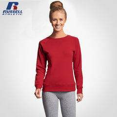 LADIES CREW NECK SWEATSHIRT | RUSSEL