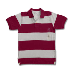 BOY'S BOLD STRIPE POLO | GP-(4Y-16Y)