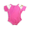 GIRLS PINK ROMPER | LIL JOEY-(0M-18M