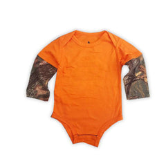 BOY'S THERMAL SLEEVES ROMPER |FIELD & STREAM-(0M-24M