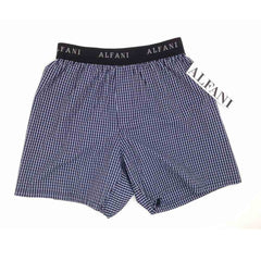 MEN'S B-GRADE FORMAL STRIPE WOVEN BOXER | ALFANI