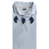 BOY'S SKY BLUE CHECK POLO | ON-(2Y-5Y)