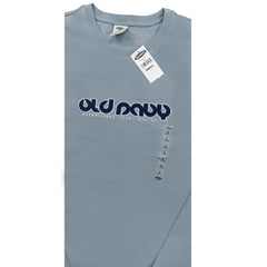 MENS FULL SLEEVE APPLIQUE TEE| OLD NAVY