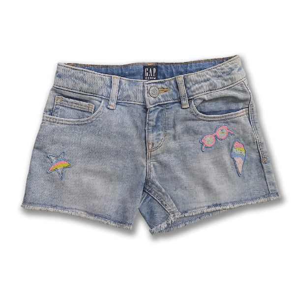 GIRL'S STAR SHORTS | GP-(6Y-14Y)