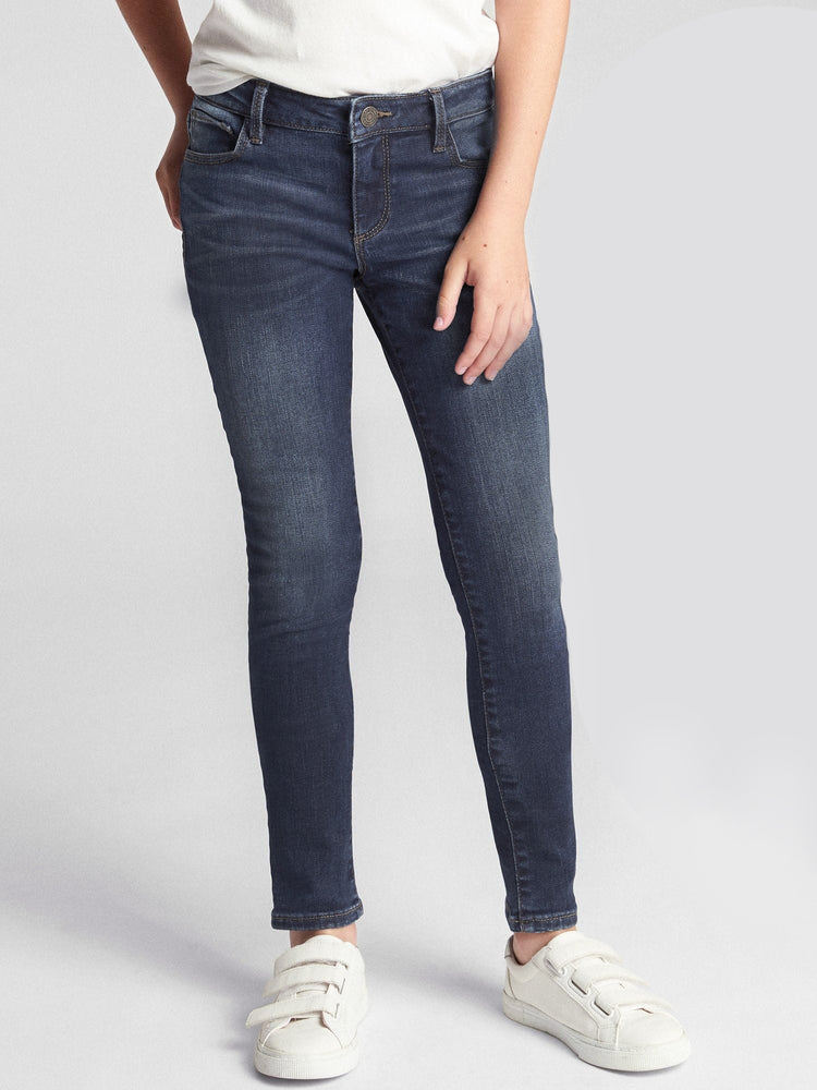 GIRL'S SUPER SKINNY FIT JEANS | GAP-(5Y-14Y)