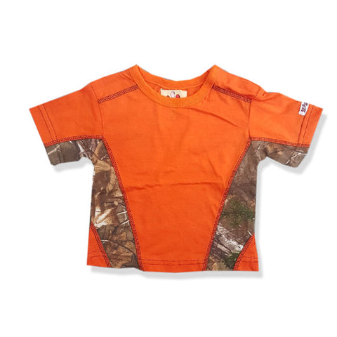 BOY'S CAMO SHORT SLEEVE T-SHIRT | LIL JOEY-(12M-4Y)
