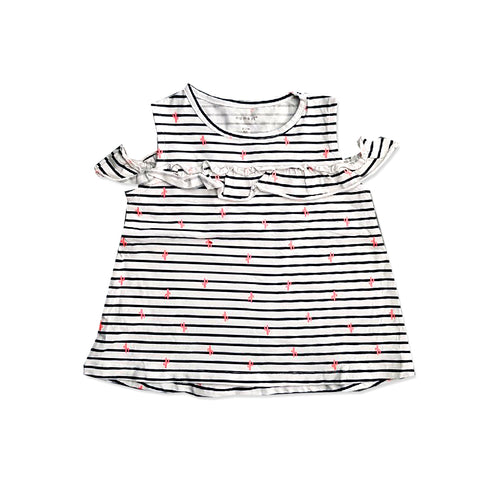 GIRL'S STRIPED DRESS | NAME IT-(9M-4Y)