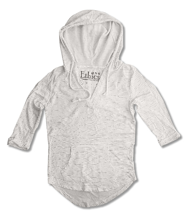 LADIES LIGHT WEIGHT TERRY  HOOD | T4T