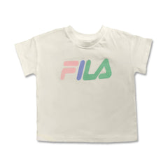 GIRL'S GRAPHIC PRINTED TEE | FILA-(2Y-12Y)