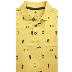 BOY'S YELLOW SKATE POLO | OLD NAVY-(6M-5Y)