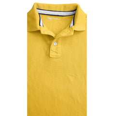 BOY'S YELLOW PIQUE POLO | GP-(4Y-13Y)