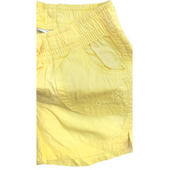 GIRL'S YELLOW COTTON BEACH SHORTS | OVS-(9M-36M)