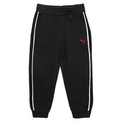 BOY'S EMBROIDERY LOGO FLEECE TROUSER | PUMA-(3M-7Y)