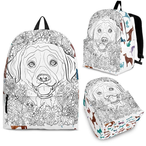 Adult Coloring BackPack - Free Shipping-Paww-Printz-Merchandise
