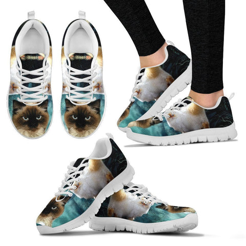 Himalayan Cat (Halloween) Print-Running Shoes For Women/Kids-Free Shipping-Paww-Printz-Merchandise
