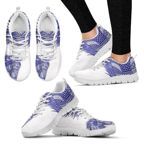 Blue Horse-Men And Women's Running Shoes-Free Shipping-Paww-Printz-Merchandise