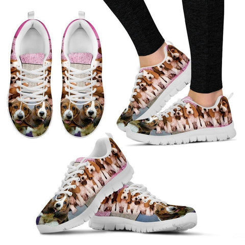 Basset Hound Group-Dog Shoes For Women-Free Shipping-Paww-Printz-Merchandise