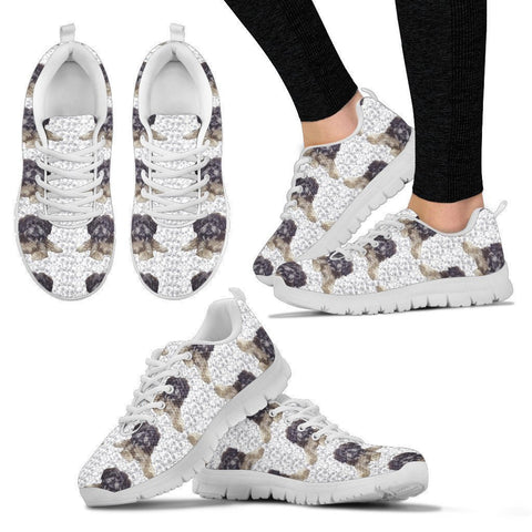 Affenpinscher Pattern Print Sneakers For Women- Express Shipping-Paww-Printz-Merchandise