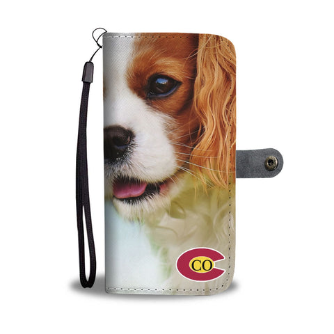 Cavalier King Charles Spaniel Print Wallet Case-Free Shipping-CO State